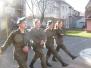 [18.02.2014] Ćwiczenia – musztra klasy wojskowej