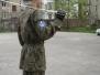 Ćwiczenia przed IV Wojewódzkim Przeglądem Musztry Klas Mundurowych