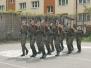 Klasa wojskowa - ćwiczenia musztry paradnej