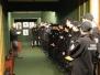 Zajęcia uczniów klas policyjnych na strzelnicy miejskiej