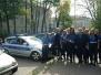 Patrolowanie ulic Tarnowa przez uczniów klasy brd