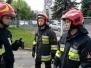 Praca zespołowa – ćwiczenia klasy pożarniczej