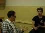 Spotkanie uczniów XVI LO z dziennikarzem Grzegorzem Nawrockim