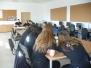 Uczniowie klas policyjnych w Wyższej Szkole Policji w Szczytnie