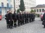 Uczniowie klas pożarniczych w Szkole Aspirantów PSP w Krakowie