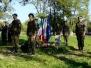 Uroczyste złożenie wieńców na Cmentarzu Wojskowym 202 w Tarnowie