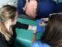Warsztaty klasy medycznej w Państwowej Wyższej Szkole Zawodowej w Tarnowie