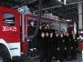 Zajęcia klas pożarniczych w JRG Nr 1 PSP w Tarnowie