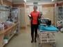 Zajęcia klasy medycznej w SOR w szpitalu im. św. Łukasza