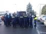 Zajęcia klasy policyjnej BRD w terenie