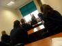 Zajęcia klasy policyjnej w pracowni psychologicznej