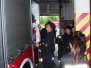 Zajęcia klasy pożarniczej w JRG Nr 1 PSP w Tarnowie