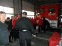 Zajęcia klasy ratowniczo - pożarniczej w jednostce PSP w Tarnowie