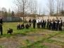Zajęcia praktyczne klasy 1b w Zakładzie Kynologii Policyjnej